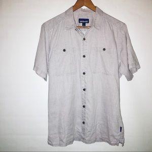 Patagonia Hemp Polka Dot Shirt